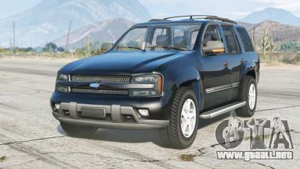Chevrolet TrailBlazer 2001 v2.0 para GTA 5