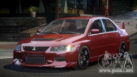 Mitsubishi Evo IX BS-U para GTA 4
