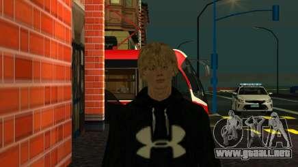 Gran piel - Guy Cyril para GTA San Andreas
