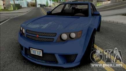 Cheval Fugitive [SA Plate] para GTA San Andreas