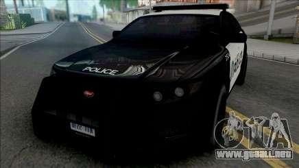 Vapid Torrence Police Los Santos v2 para GTA San Andreas