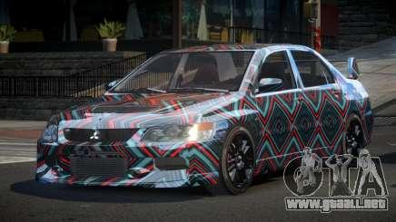 Mitsubishi Evo IX BS-U S2 para GTA 4