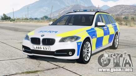 BMW 530d Touring (F11) 2013〡British Police para GTA 5