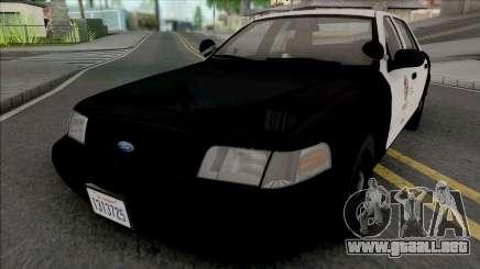 Ford Crown Victoria 1999 CVPI LAPD GND para GTA San Andreas