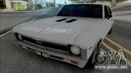 Chevrolet Chevy Argentina para GTA San Andreas