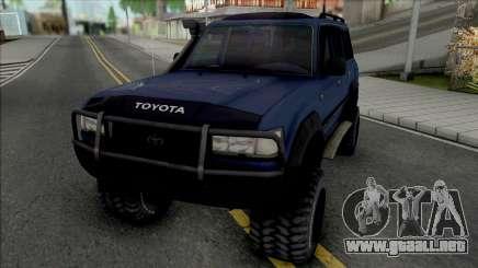 Toyota Land Cruiser 80 Turbo para GTA San Andreas