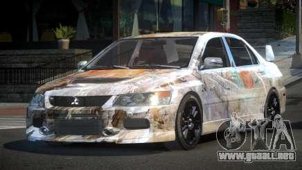 Mitsubishi Evo IX BS-U S9 para GTA 4