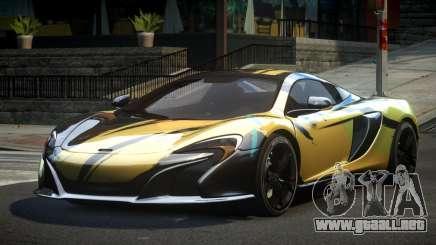 McLaren 650S BS S2 para GTA 4