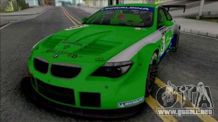 Alpina B6 GT3 (NFS Shift 2) para GTA San Andreas