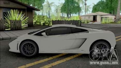 Lamborghini Gallardo LP560-4 2008 para GTA San Andreas