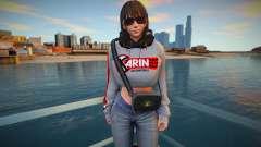 Nanami Fashion Casual DLC Los Santos Tuners 3 para GTA San Andreas