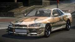 Nissan Skyline R34 PS-I S10 para GTA 4