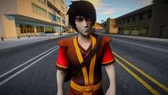Zuko (Avatar: The Last Airbender) para GTA San Andreas