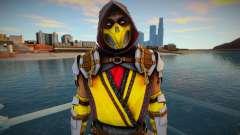 Scorpion MK11 from Mortal Kombat Mobile para GTA San Andreas