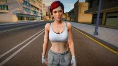 Dead Or Alive 5 - Mila (Costume 6) 4 para GTA San Andreas