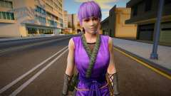 Dead Or Alive 5 - Ayane (Costume 2) 6 para GTA San Andreas