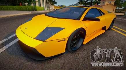 2008 Lamborghini Murcielago SV Roadster para GTA San Andreas