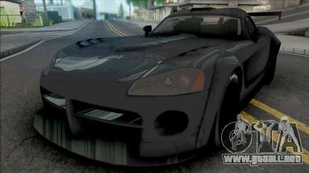 Dodge Viper SRT10 2008 BodyKit para GTA San Andreas