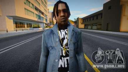 FAM2 skin in Jeans para GTA San Andreas