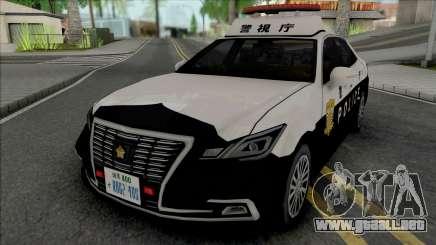 Toyota Crown Royal Saloon 2016 Patrol Car para GTA San Andreas