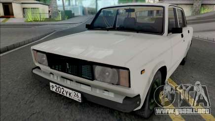 VAZ-2105 2007 para GTA San Andreas