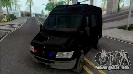 Mercedes-Benz Sprinter Unmarked SWAT para GTA San Andreas