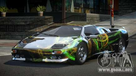 Lamborghini Diablo U-Style S2 para GTA 4