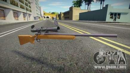 Quality Sniper Rifle para GTA San Andreas