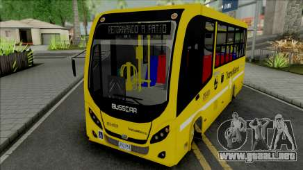 Busscar Optimuss para GTA San Andreas