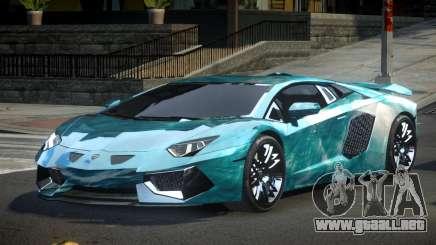 Lamborghini Aventador PSI Qz S2 para GTA 4