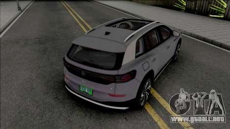 Volkswagen ID.6 X 2022 para GTA San Andreas