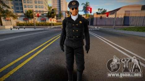 Lei Supercop 3 para GTA San Andreas