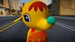Eloise - Animal Crossing Elephant para GTA San Andreas