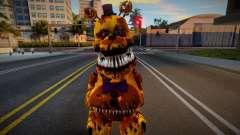 Nightmare Fredbear para GTA San Andreas