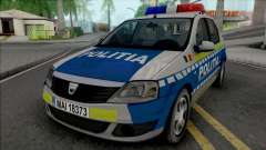 Dacia Logan Politia Romana