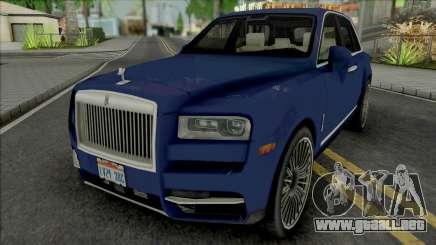 Rolls-Royce Cullinan 2018 (Chrome) para GTA San Andreas