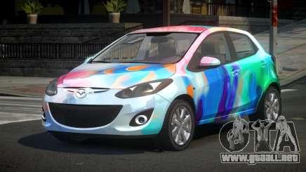 Mazda 2 U-Style S6 para GTA 4