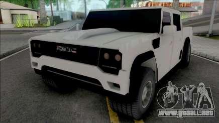 BMC Tulga para GTA San Andreas