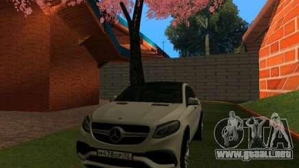 Mercedes-Benz GLE 63 AMG RUS Plates Final para GTA San Andreas