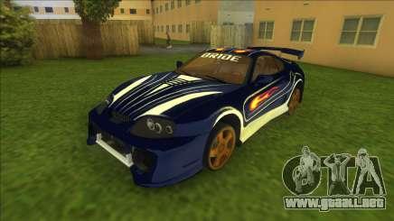 NFSMW Toyota Supra Vic para GTA Vice City