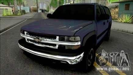 Chevrolet Suburban 2001 para GTA San Andreas
