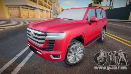 Toyota Land Cruiser 300 2021 para GTA San Andreas