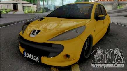 Peugeot 206 (Air) para GTA San Andreas