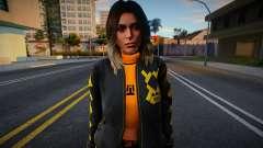 Lara Croft Fashion Casual - Los Santos Summer 1 para GTA San Andreas