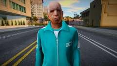 New Wmopj Casual Squid Game N002 para GTA San Andreas