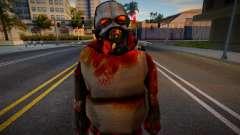 Zombie Soldier 5 para GTA San Andreas