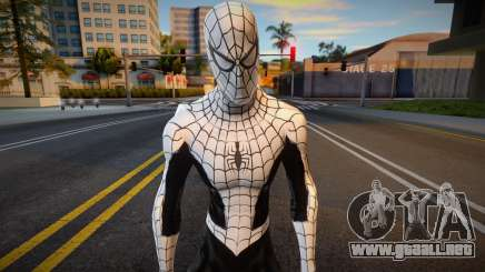 Spiderman Web Of Shadows - White and Black Suit para GTA San Andreas