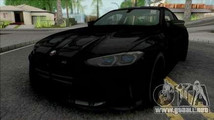 BMW M4 G82 2021 KITH para GTA San Andreas