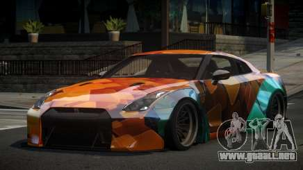 Nissan GT-R ZR S3 para GTA 4