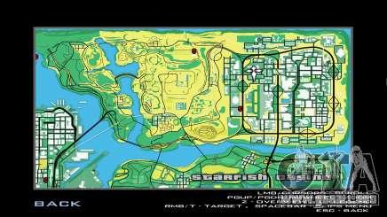 Recolorer Map Sims Style para GTA San Andreas